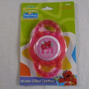 Baby Elmo Sesame Street Water Filled Teether